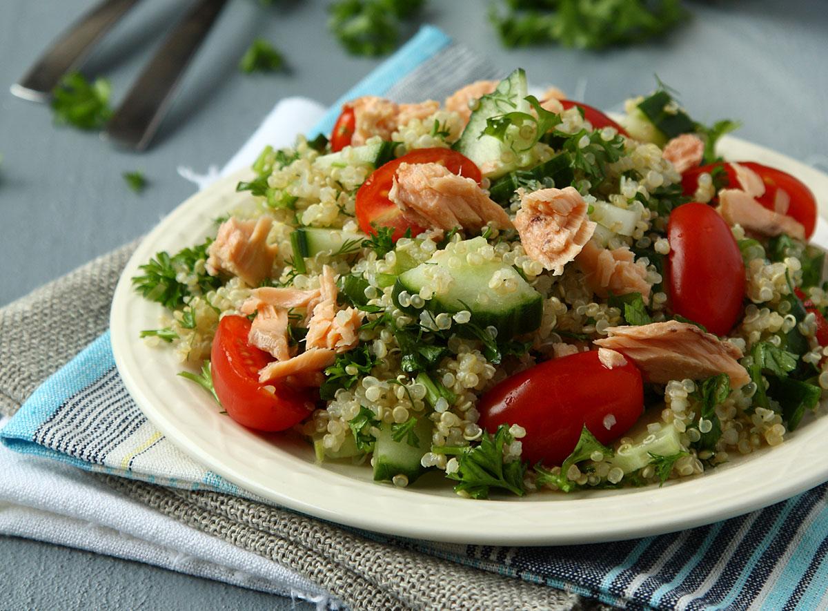 Mediterranean Quinoa via Shutterstock