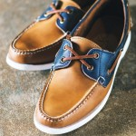 """The company's """"Read"""" leather boat shoes will be released May 1."""