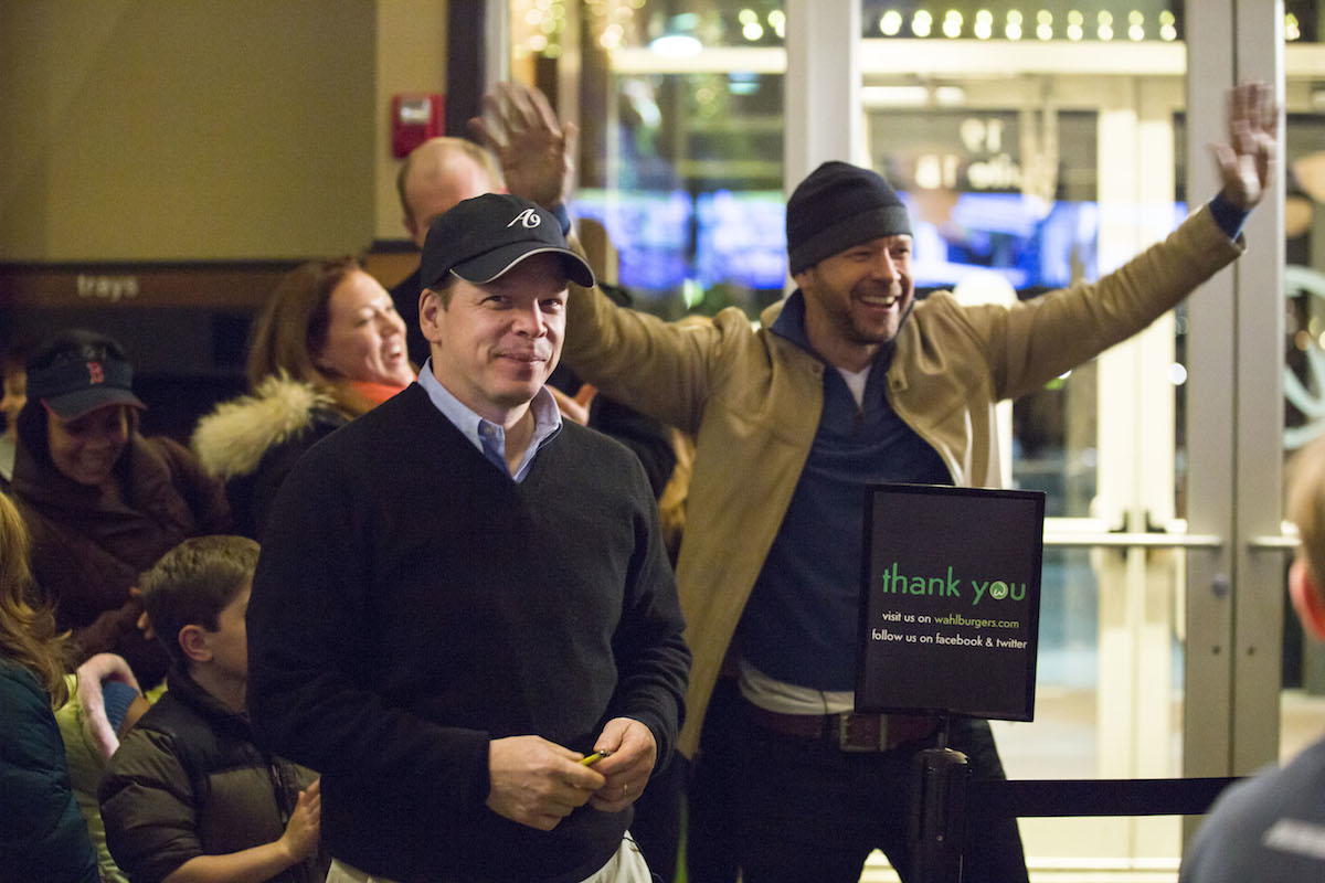 Wahlburgers Donnie and Paul Wahlberg