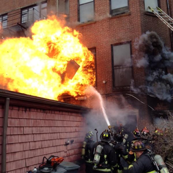 Back Bay Fire, Boston Fire Department