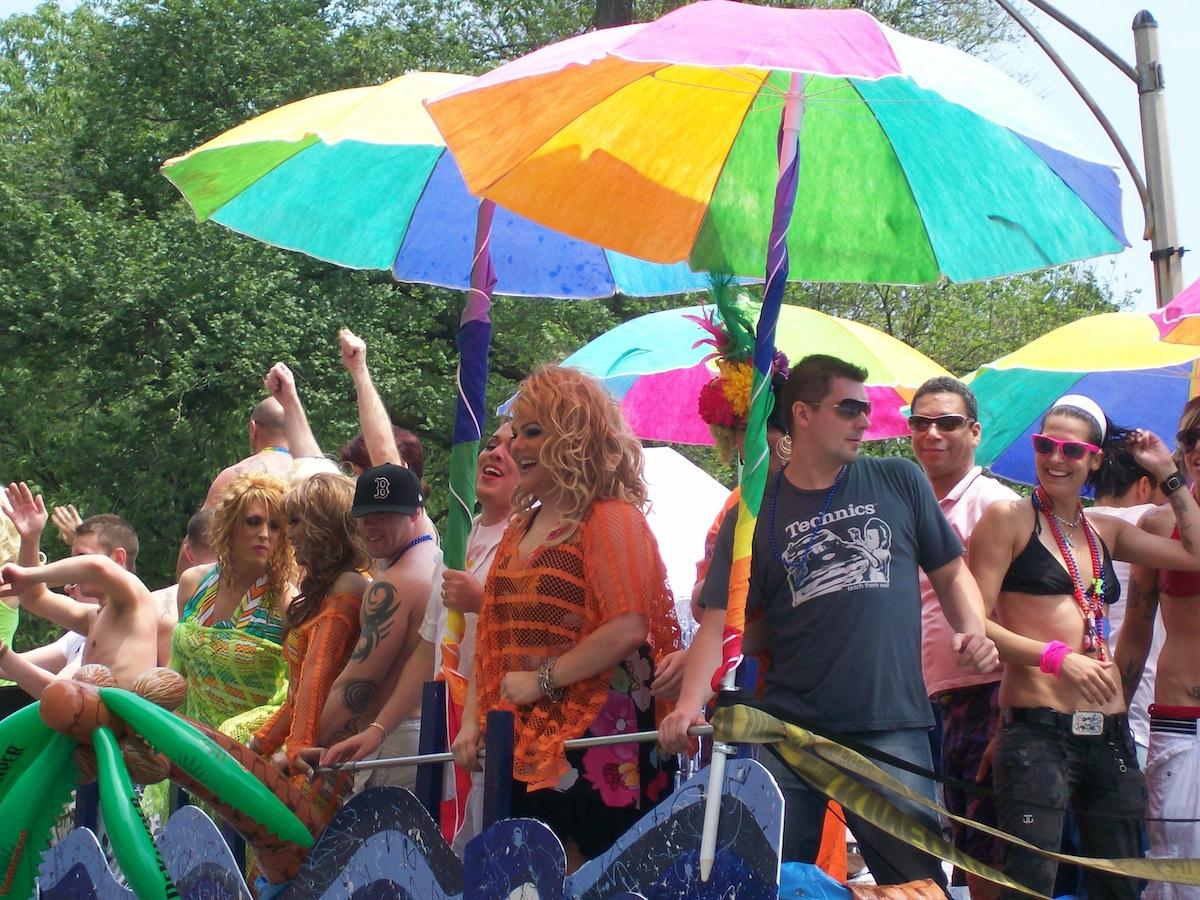 Boston pride parade photo uploaded by Francisco Seoane Perez on Flickr