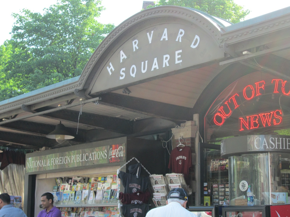 Harvard Square Photo Uploaded by themohzi's on Flickr