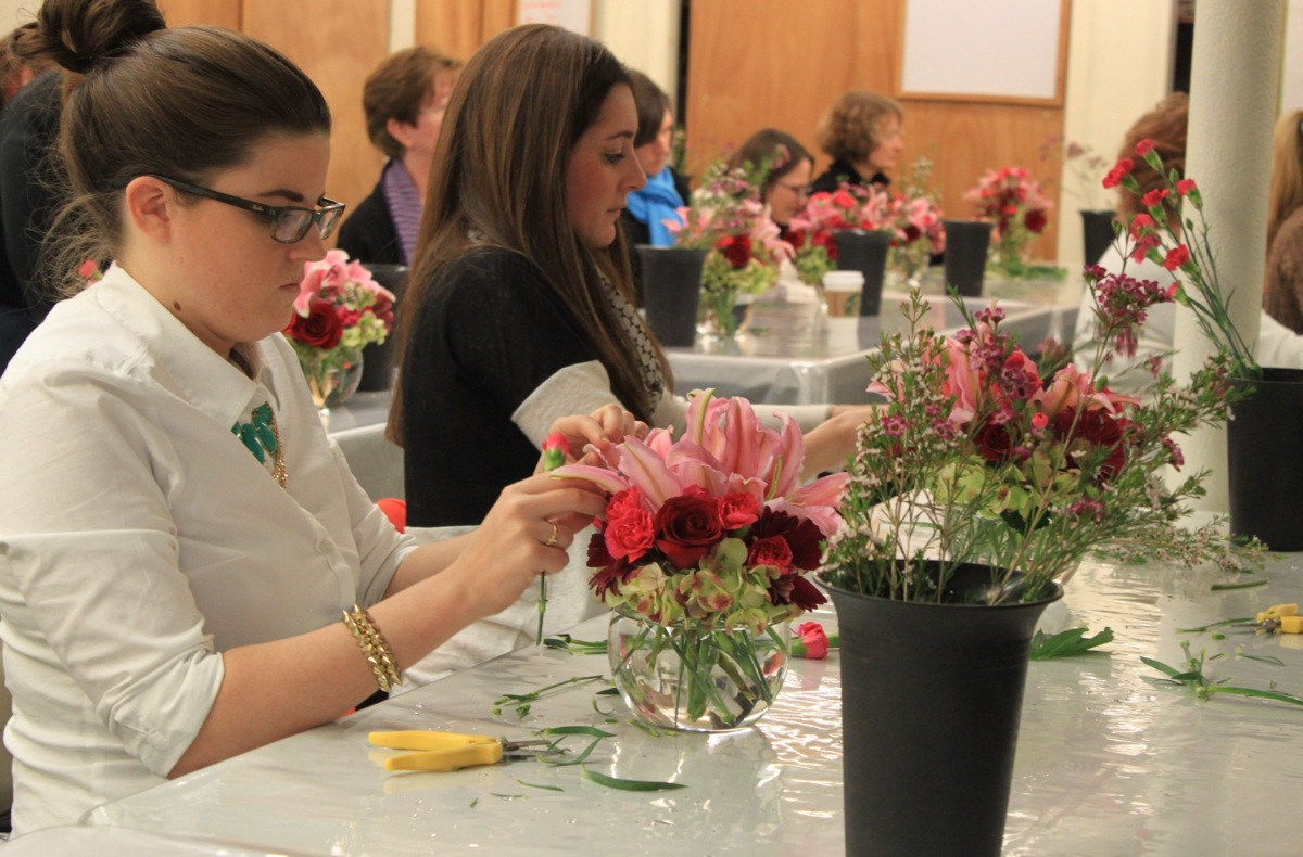 PHOTO PROVIDED BY CASS SCHOOL OF FLORAL DESIGN.