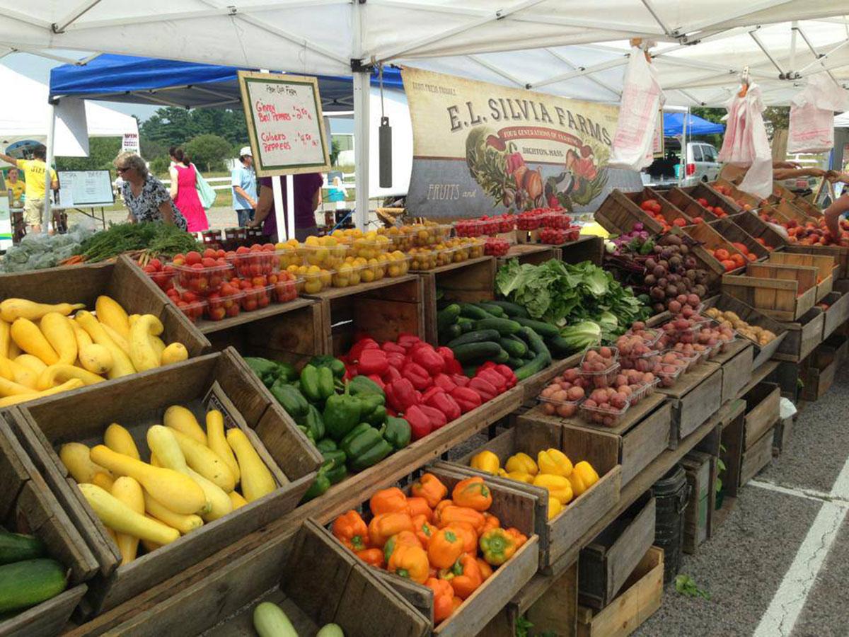 Fresh Produce At Crescent Ridge Farmers Market All Photos Provided
