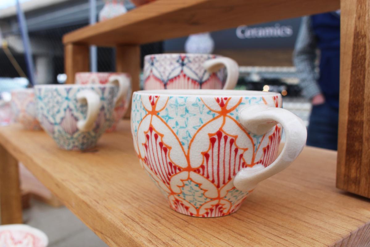 sowa open market 2014 Dawn Dishaw Ceramics