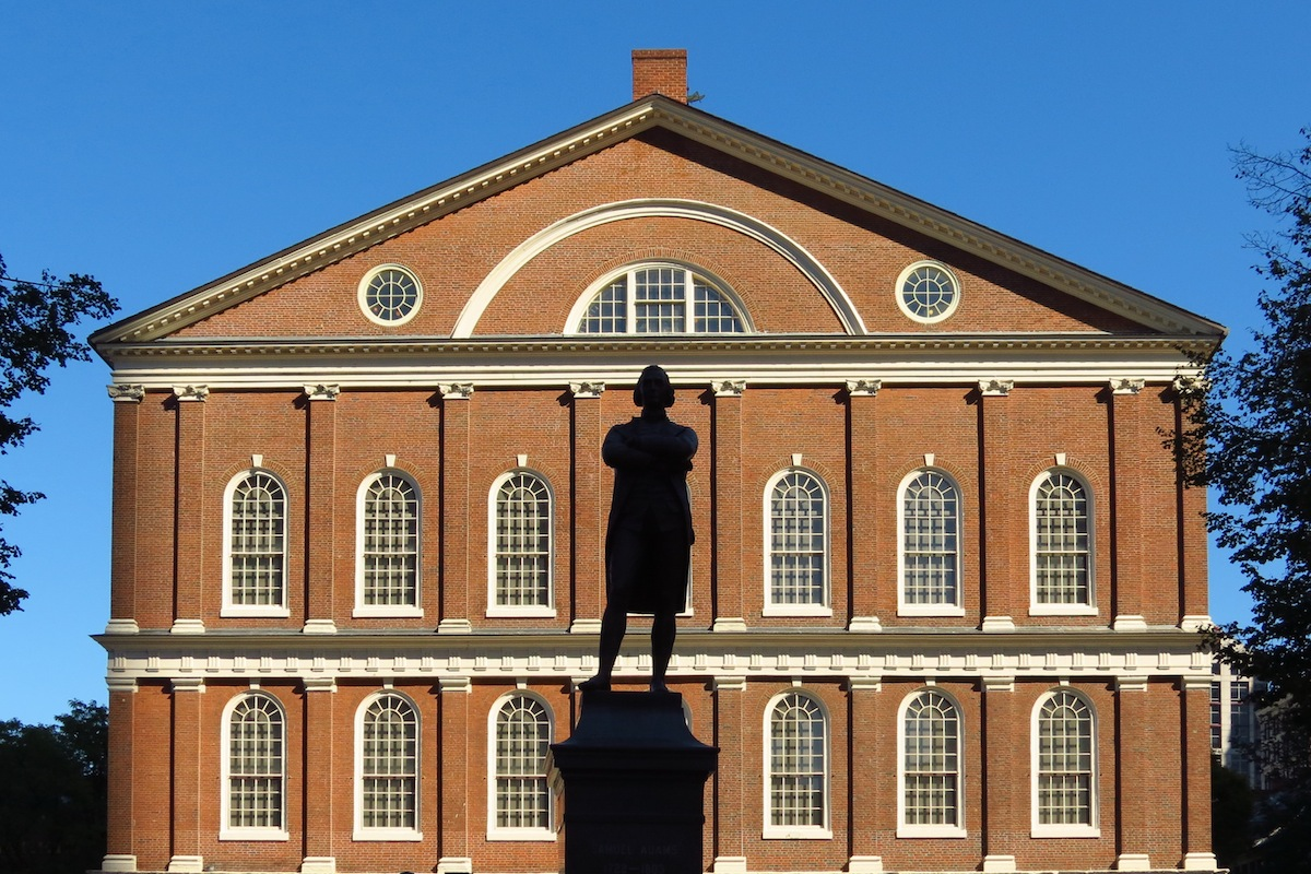 Faneuil Hall Photo Uploaded by Robert Linsdell on Flickr