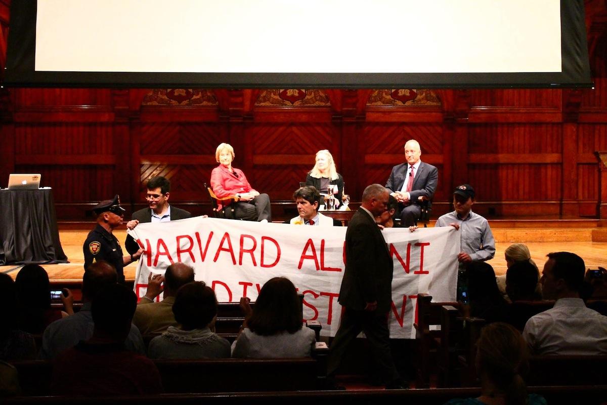 Image Courtesy of Divest Harvard
