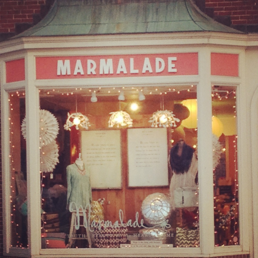 Curly Girl Design, Marmalade storefront