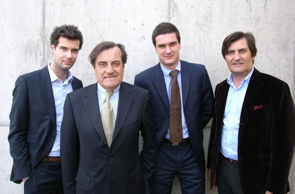 Photo of the Roset family.