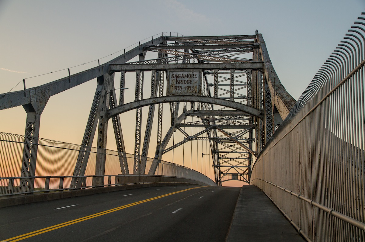 Sagamore Bridge photo uploaded by Lennart Tange on flickr