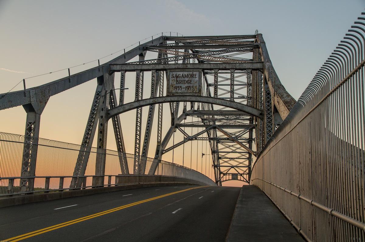 Sagamore Bridge photo uploaded by Lennart Tange on flickr