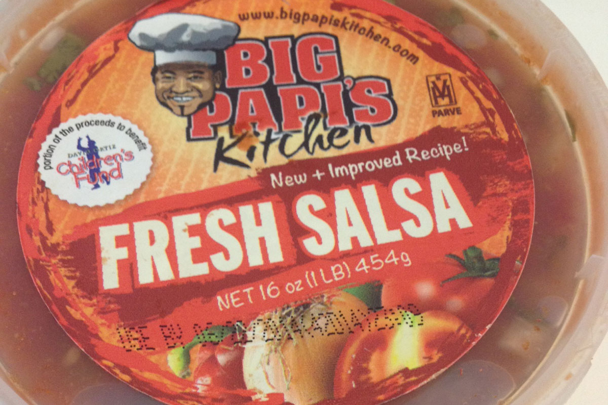 Big Papi salsa