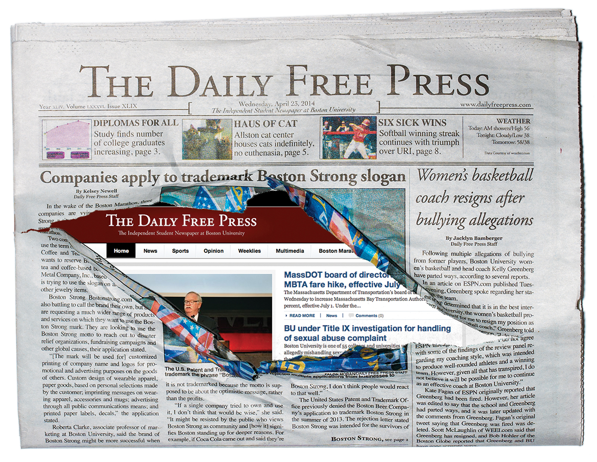 Boston University's The Daily Free Press Boston