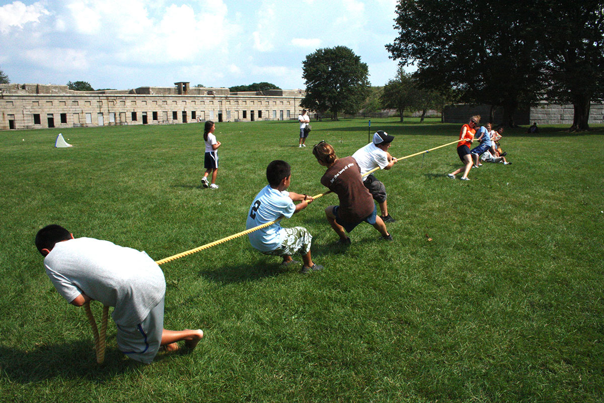 Field Day Games get everyone active.