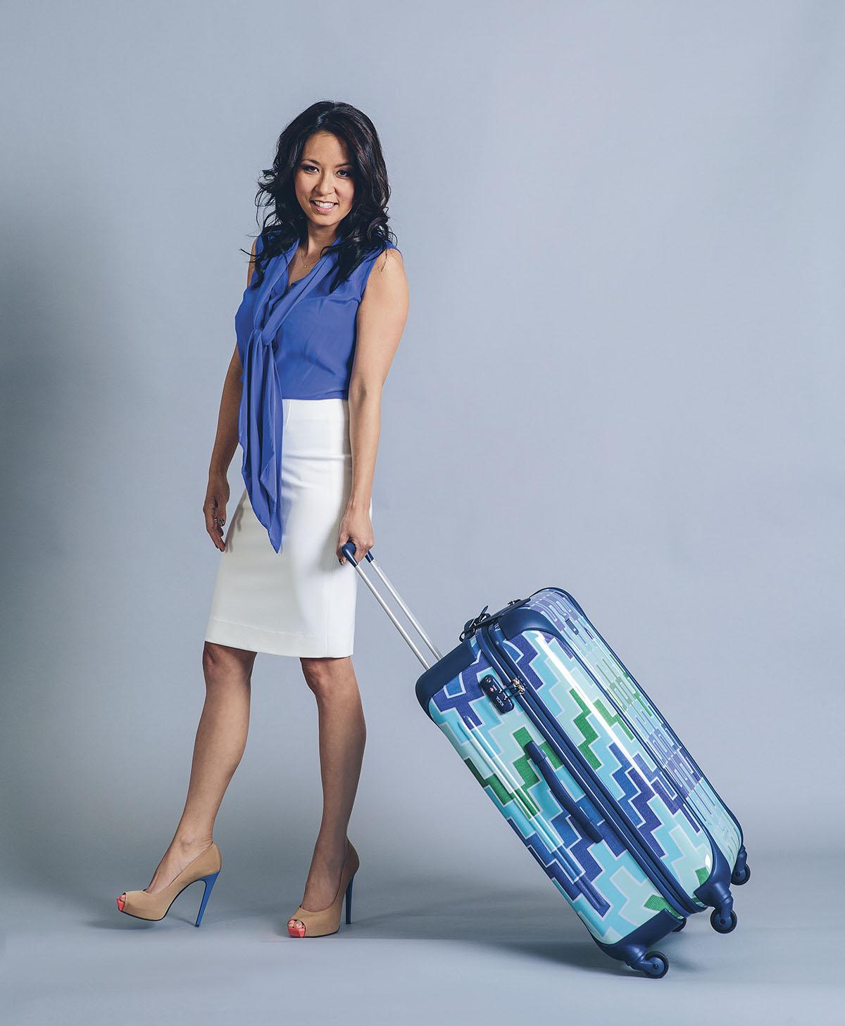 Jonathan Adler Traveler Suitcase