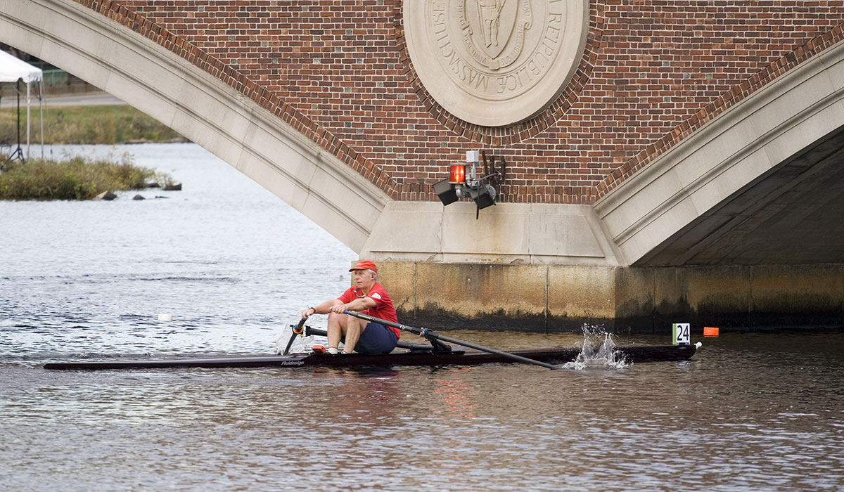 rower on charles
