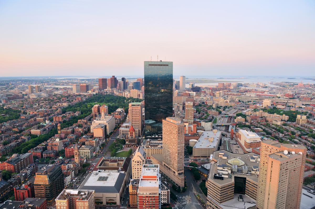 Aerial view via Shutterstock