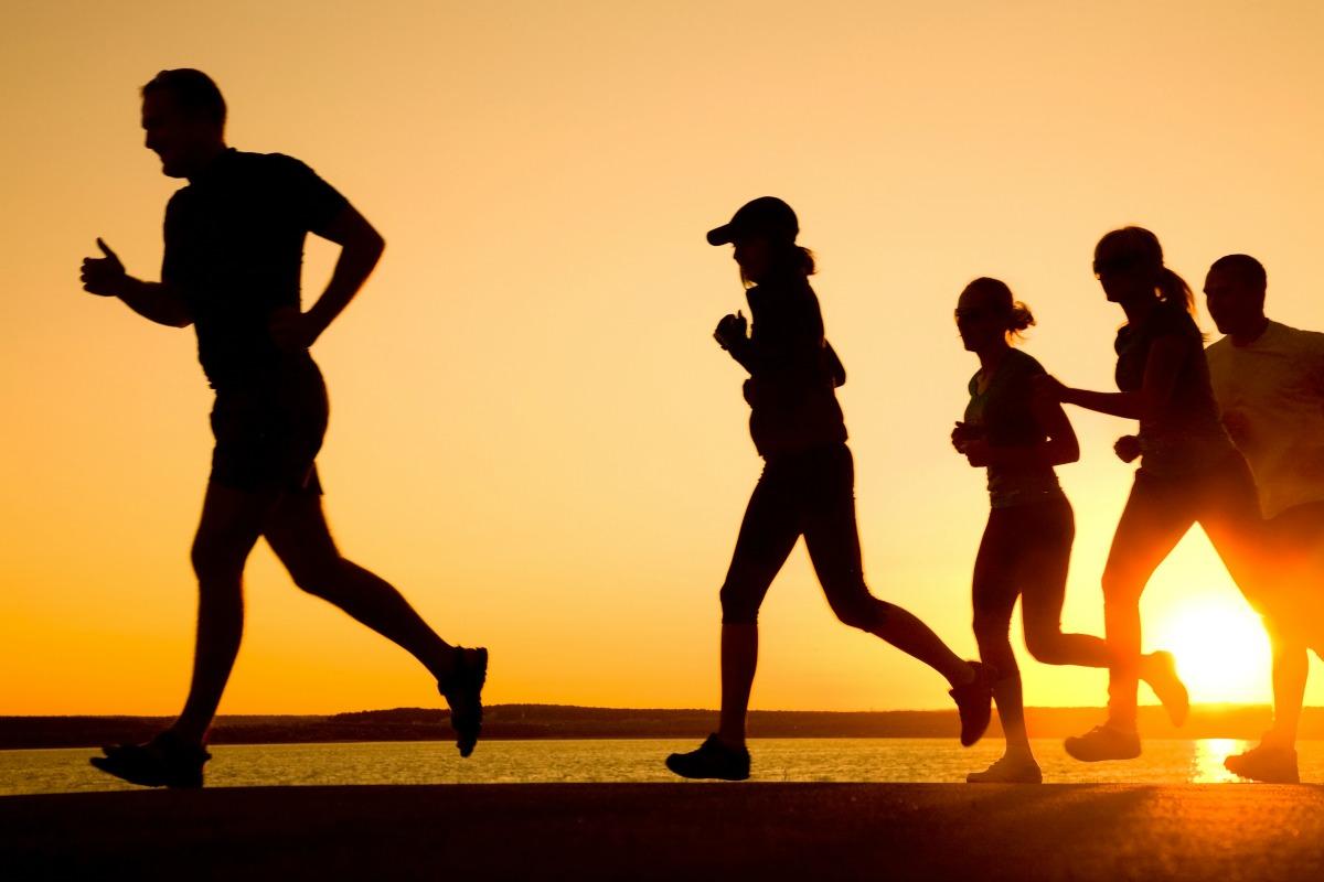 Sunset Summer Run via Shutterstock