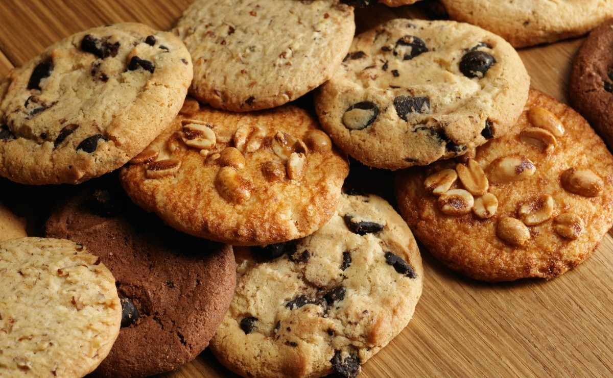 Fresh-baked Cookies via Shutterstock