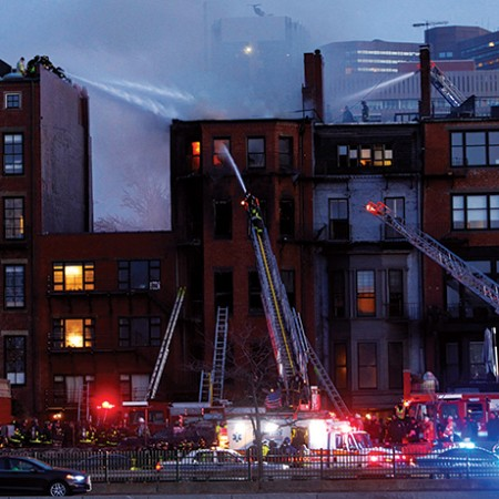 Two Firefighters Die In Beacon Street Blaze