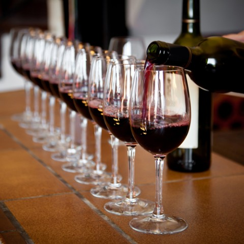 Wine Sampling via Shutterstock