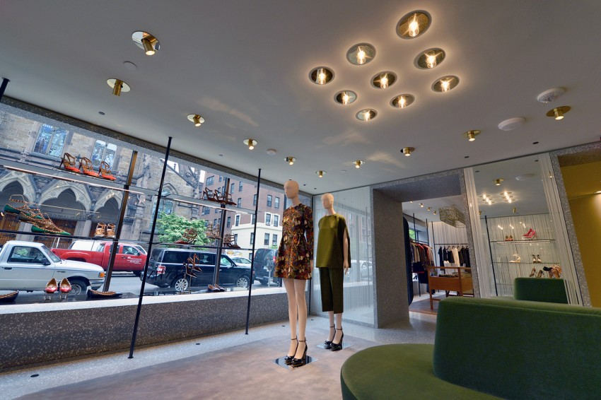 Interior of the revamped boutique / Image courtesy of Valentino.