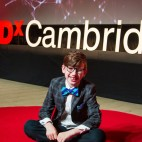 Tobias Otting at TEDx Cambridge / Photo used with permission