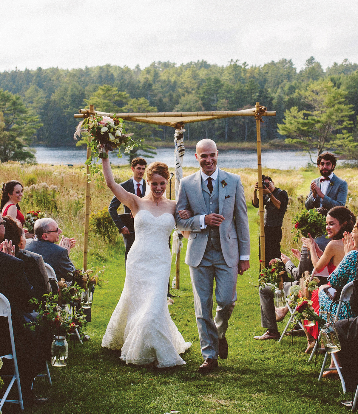 real new england weddings