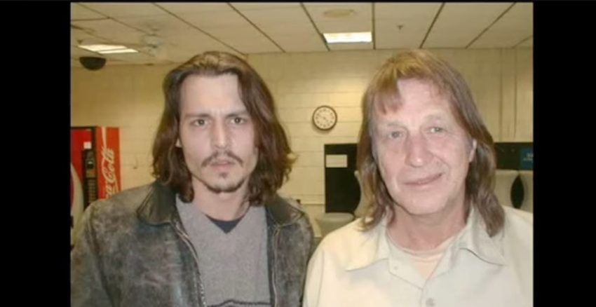 Johnny Depp and George Jung/Image via YouTube