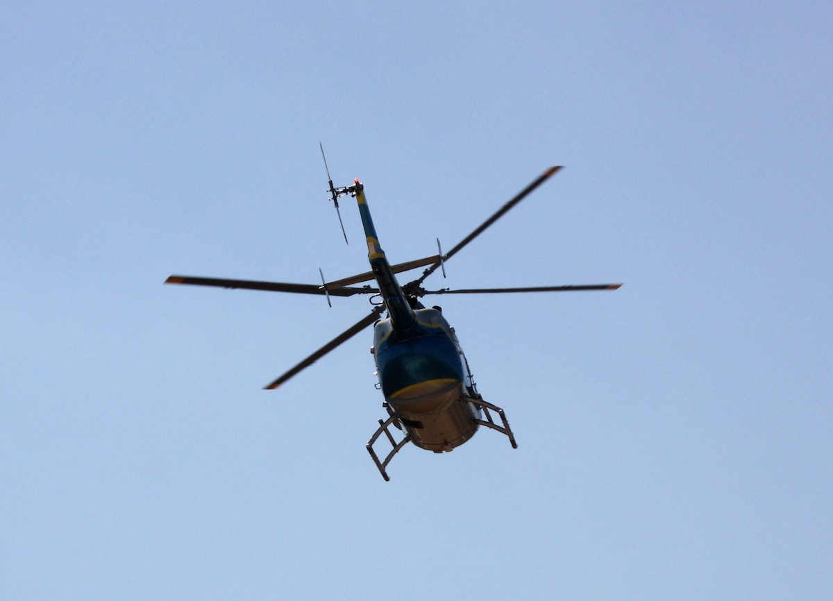 Helicopter photo uploaded by Christos Loufopoulos on Flickr