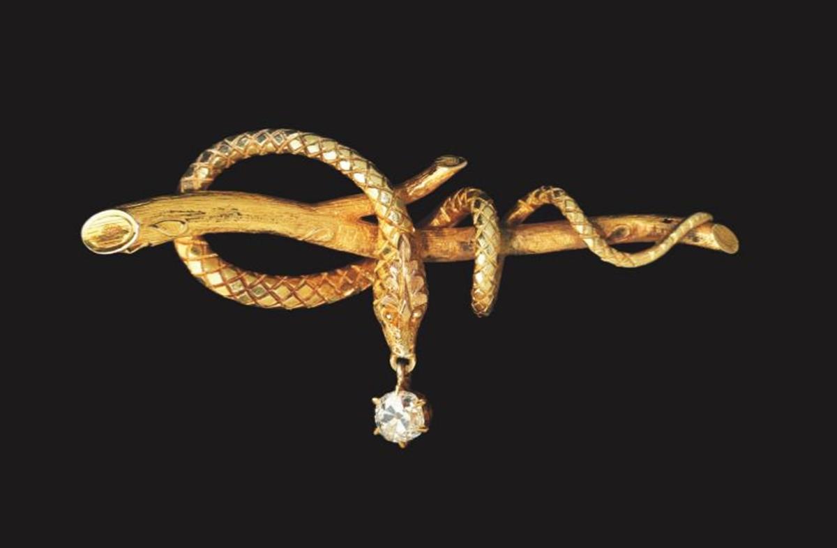 madeleine albright snake pin