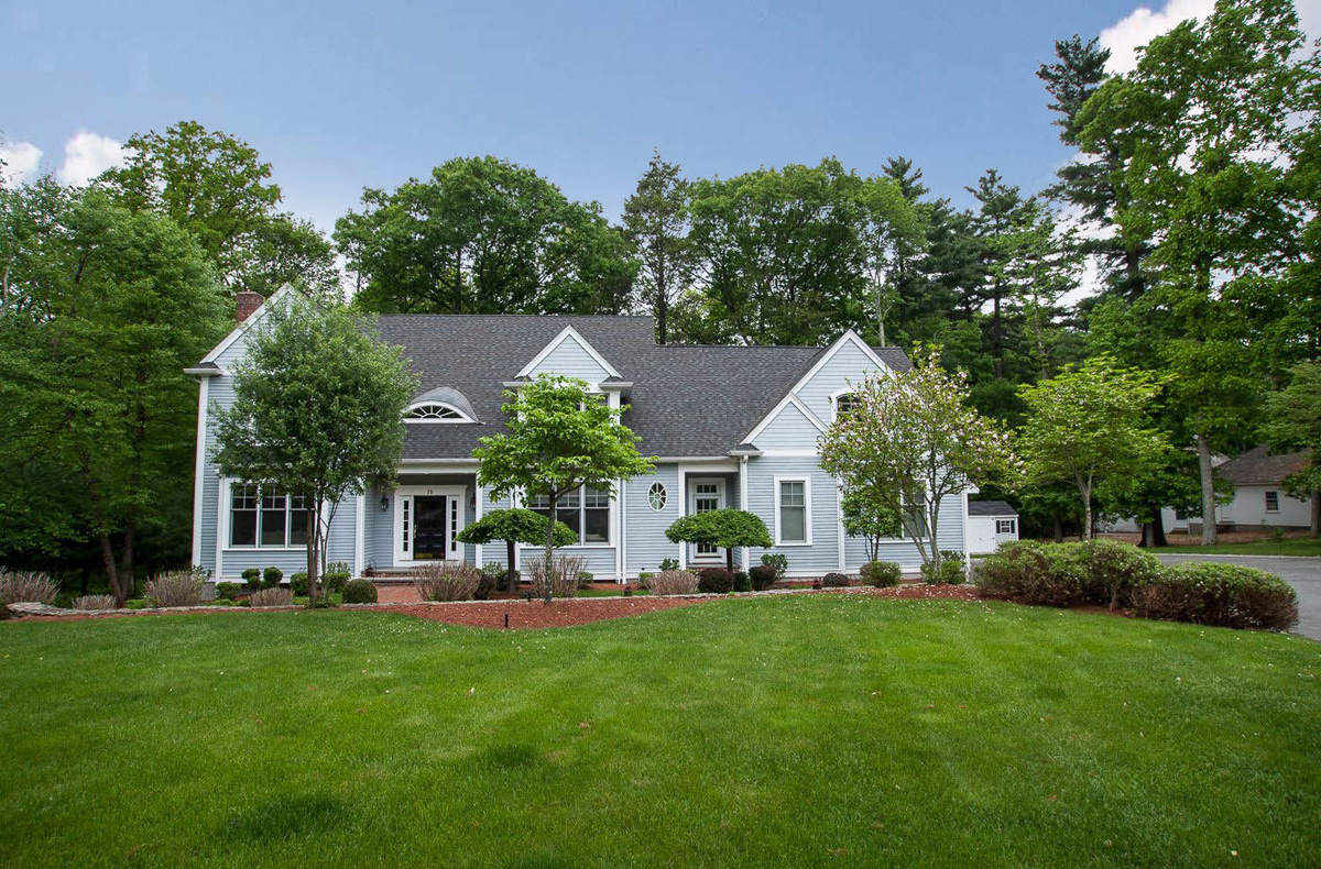 This incredible home is now on the market (Provided by New England Floor Plans & Photography).