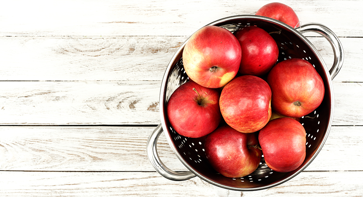 red apples shutterstock
