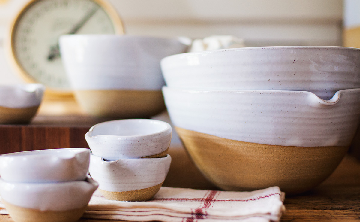 Let S Dish Inside Farmhouse Pottery In Vermont