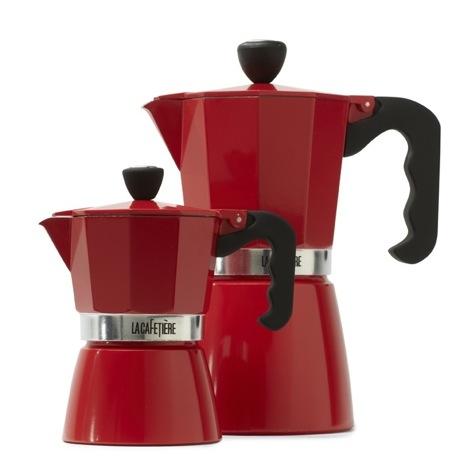 460 Home Goods Red Miniature Espresso Makers
