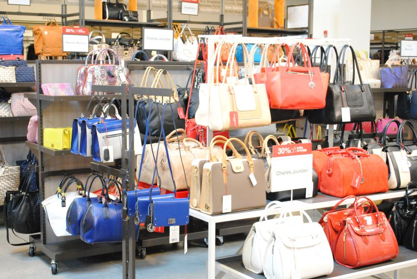 Bags, bags, and more bags / Photo by Alex Stoller.