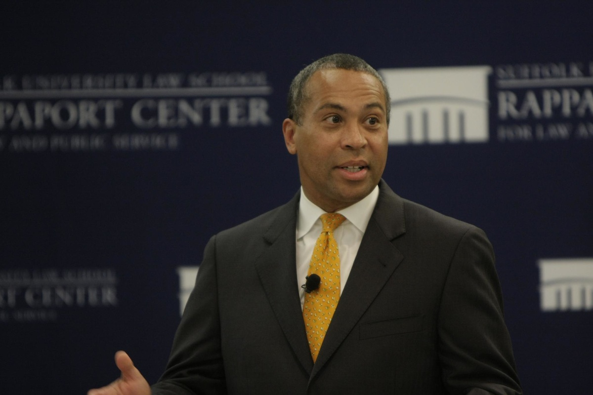 Governor patrick photo Uploaded by Rappaport Center on Flickr