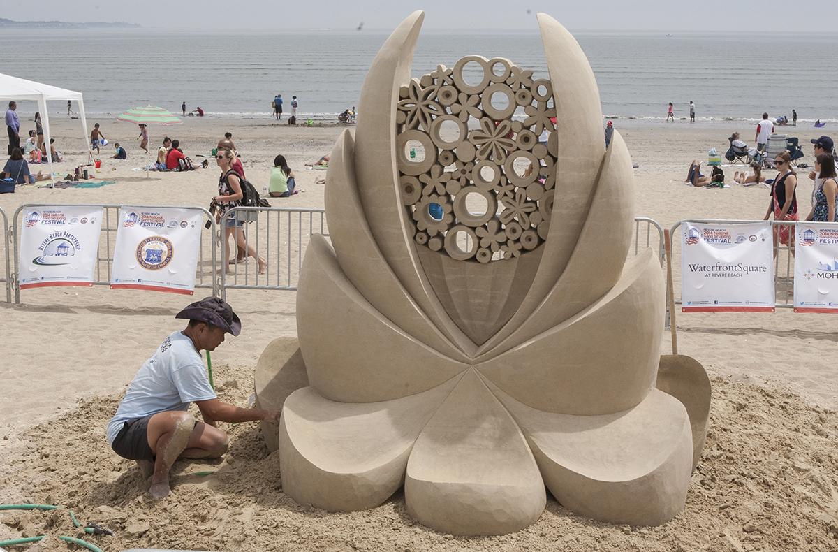 photos: 2014 revere beach national sand sculpting festival