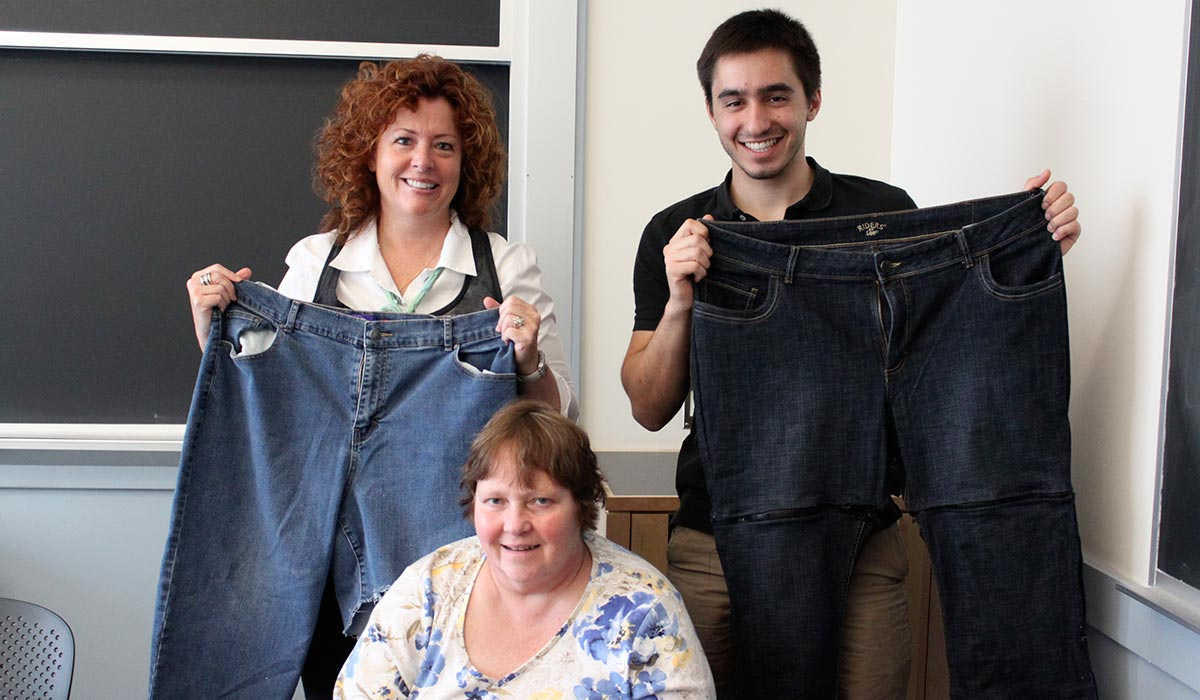 Barbara and her Open Design Lab team. Photo provided.