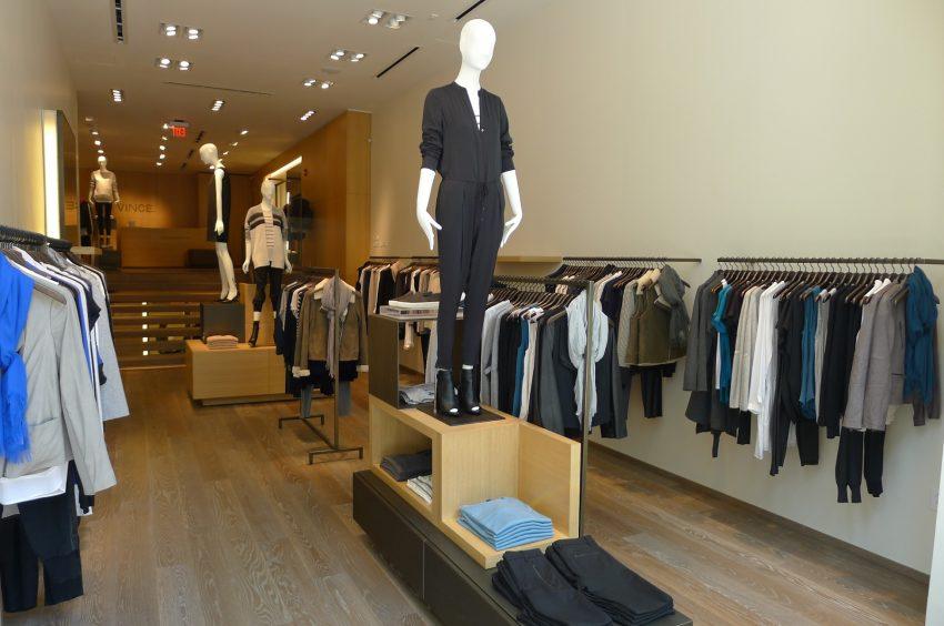 Interior of Vince's new Newbury store / Courtesy photo