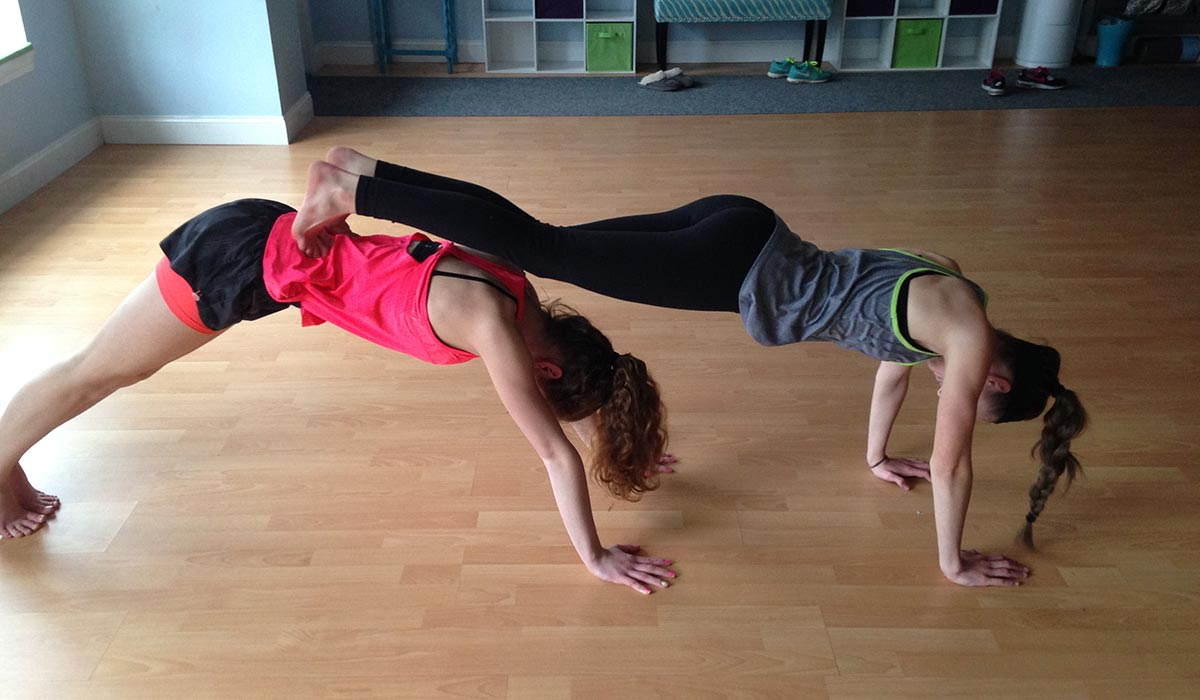 teen yoga class at studio in Sudbury. Photo provided.