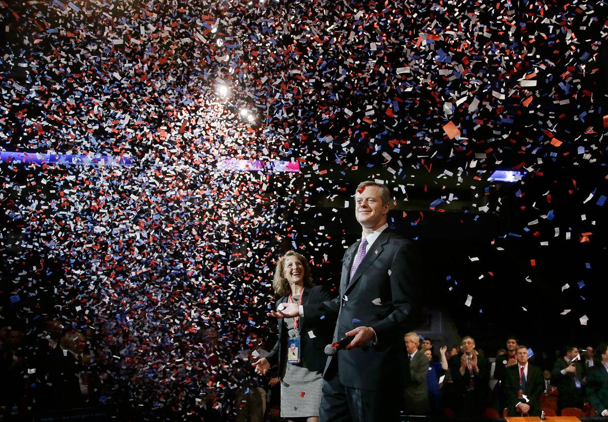 Charlie Baker / Photo via Associated Press