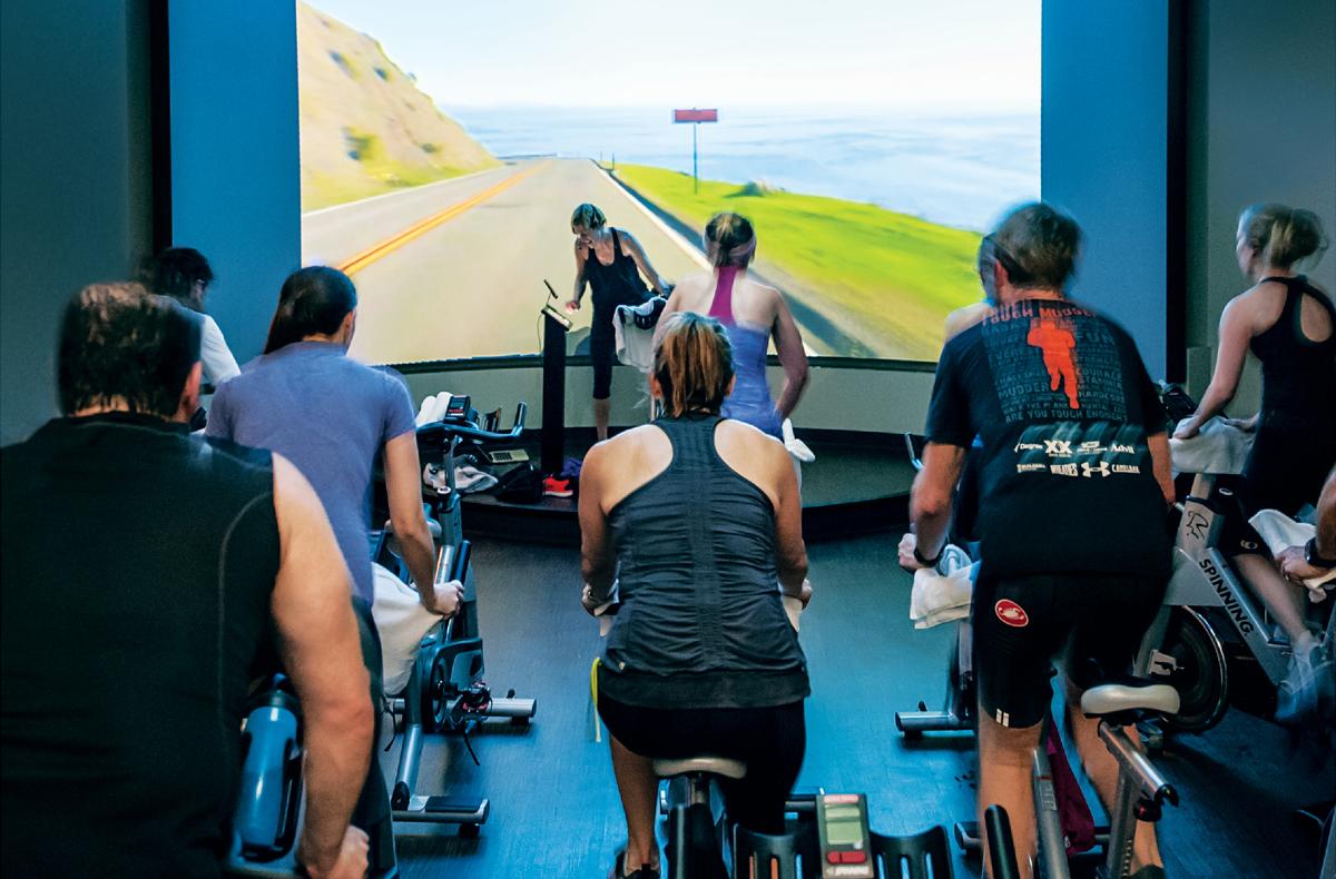 spin room sports club LA