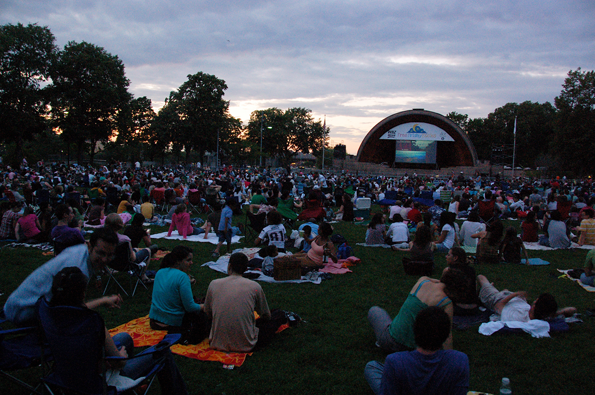 free friday flicks hatch shell boston