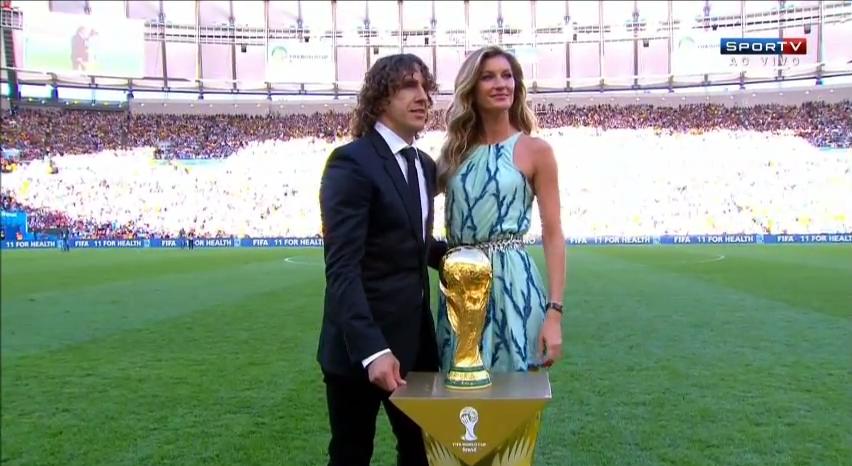 gisele bundchen world cup
