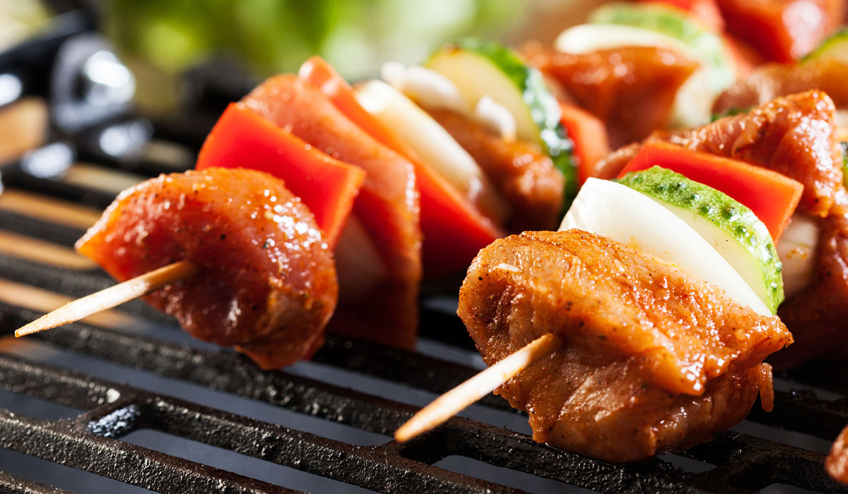grilling photo via shutterstock.