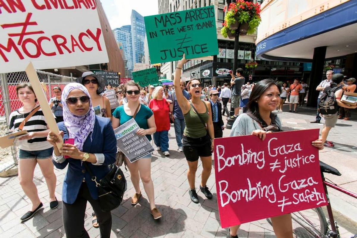 photo courtesy of Jewish Voice for Peace Boston
