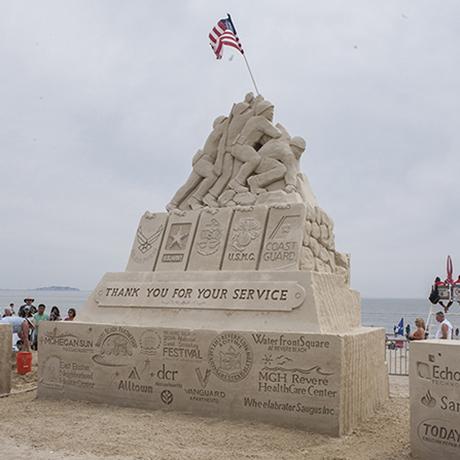 2014 revere beach national sand sculpting festival