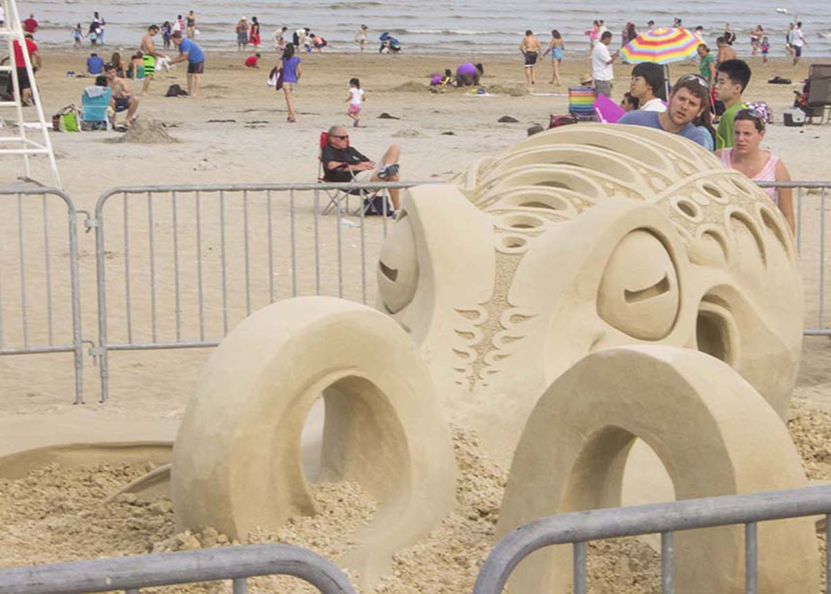 sand sculpting festival