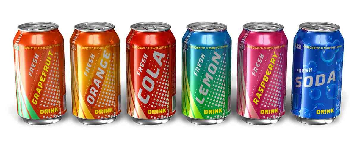 Soda image via shutterstock